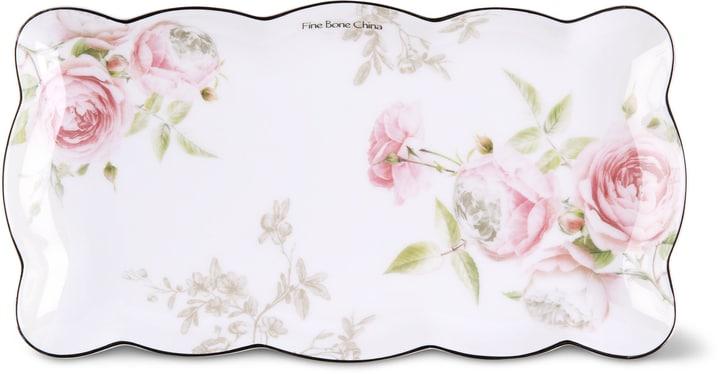BLOSSOM Kuchenplatte Cucina & Tavola 700160600010 Farbe Rosa, Weiss Grösse B: 26.5 cm x T: 13.5 cm x H: 2.0 cm Bild Nr. 1