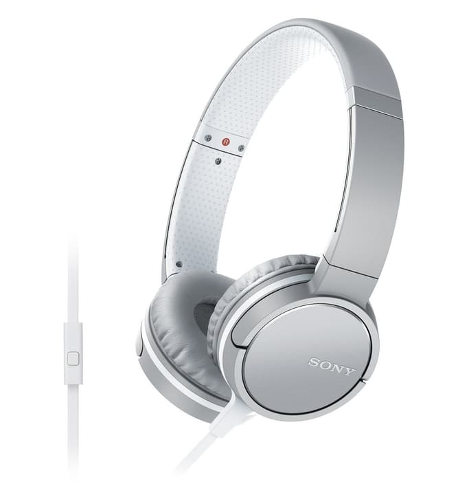 MDR-ZX660APW - Bianco Cuffie On-Ear Sony 772767700000 N. figura 1