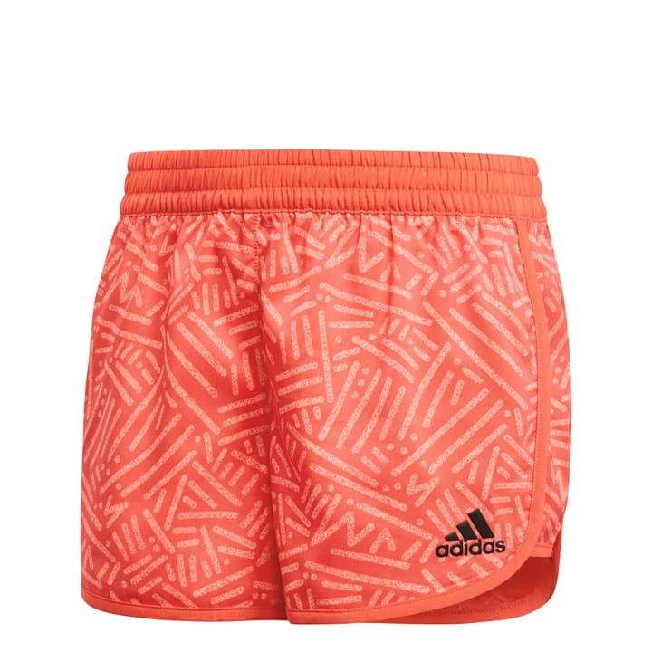 YG TR MAR SHORT Short pour fille Adidas 464528512831 Couleur rouge claire Taille 128 Photo no. 1