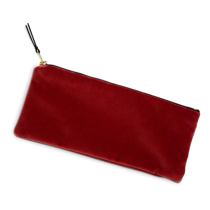 VELVET Plumier rouge 386235000000 Dimensions L: 25.0 cm x P: 11.0 cm x H: 1.0 cm Couleur Rouge Photo no. 1