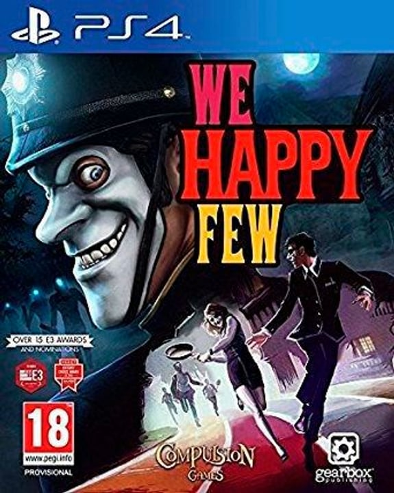 PS4 - We Happy Few D Box 785300137354 N. figura 1
