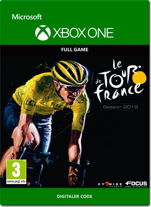 Xbox One - Tour de France 2016 Download (ESD) 785300138686 Photo no. 1