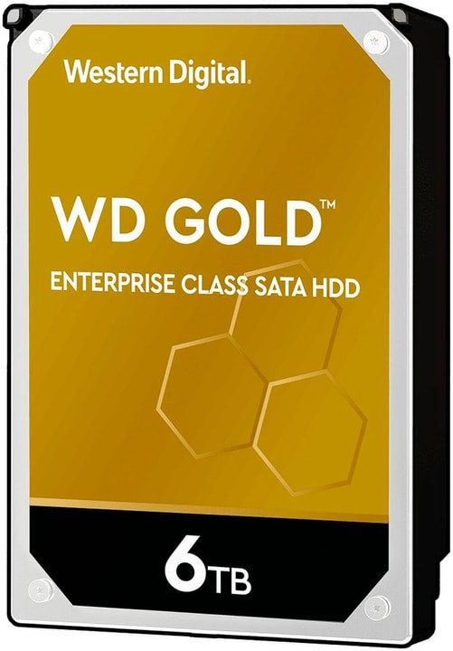 """Harddisk Gold 6 TB 3.5"""" Disque Dur Interne HDD Western Digital 785300150223 Photo no. 1"""