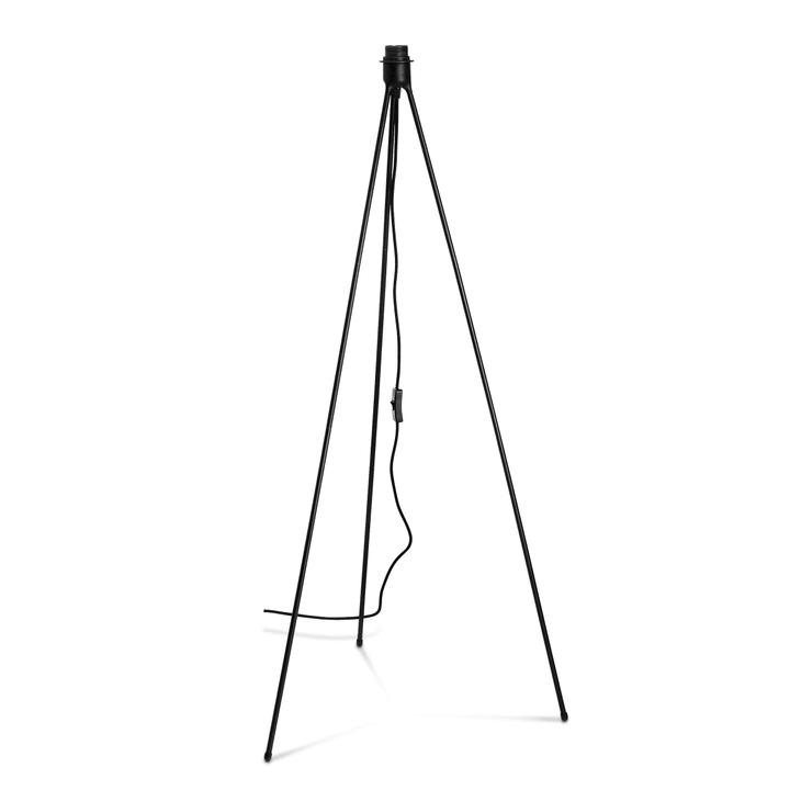 TRIPOD Pied pour lampadaires 380023900000 Dimensions L: 66.0 cm x P: 66.0 cm x H: 109.0 cm Couleur Noir Photo no. 1