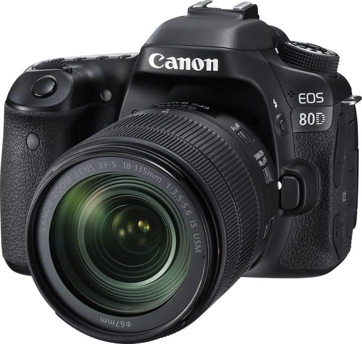 EOS 80D EF-S 18-135mm IS USM inkl. Tasche + 32GB Speicherkarte Spiegelreflexkamera Set Canon 793422500000 Bild Nr. 1