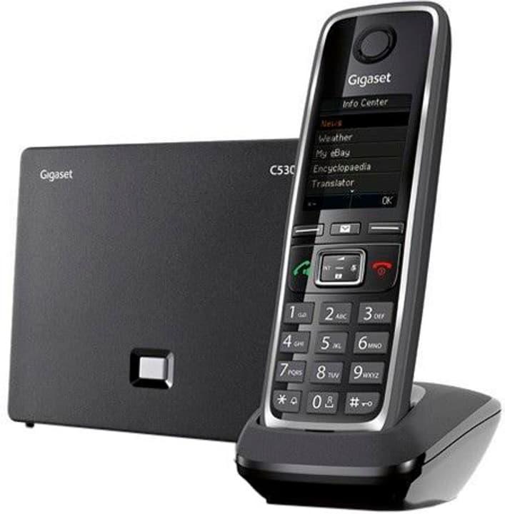 GIGASET C530 noir Téléphone VoIP 785300123489 Photo no. 1
