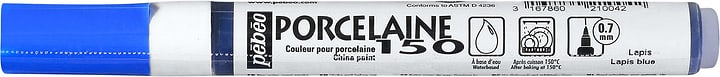 Feutre Fin Porcelain Pebeo 663660100000 Colore Lapislazzuli N. figura 1