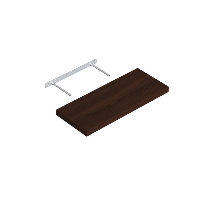 Mensola Design legno wenge velano 606077800000 N. figura 1