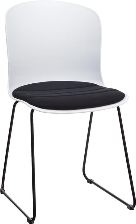 BRERA Stuhl 402398200000 Grösse B: 45.5 cm x T: 54.0 cm x H: 80.5 cm Farbe Schwarz Bild Nr. 1