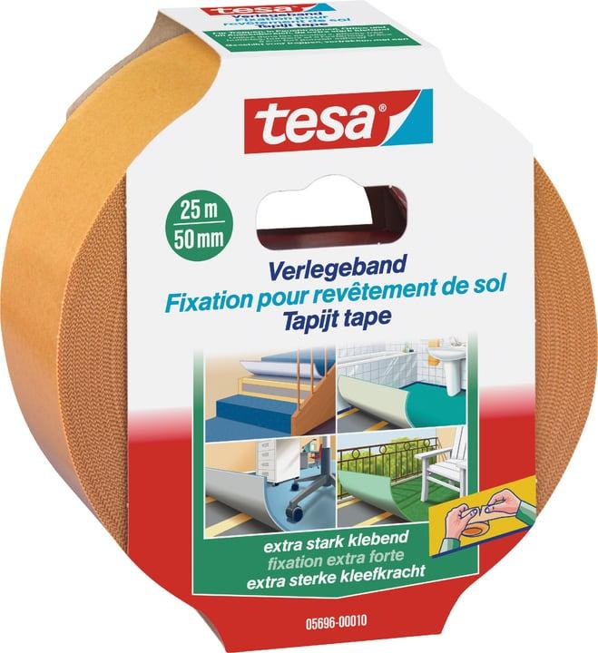 Verlegeband extra stark klebend Tesa 663059700000 Farbe Weiss Grösse L: 25.0 m x B: 50.0 mm Bild Nr. 1