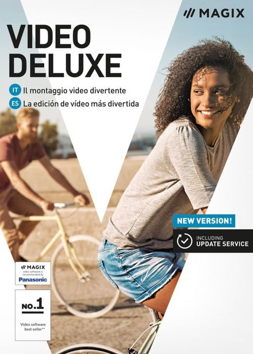 PC - Video deluxe 2018 (I) Fisico (Box) Magix 785300129430 N. figura 1