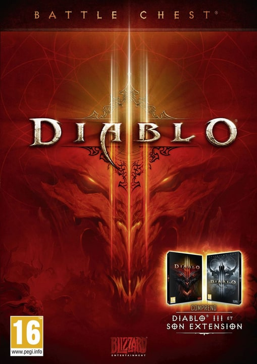 PC - Diablo III Battlechest Physique (Box)