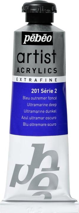 Pébéo Acrylic Extrafine Pebeo 663509020100 Colore Blu Oltremare N. figura 1