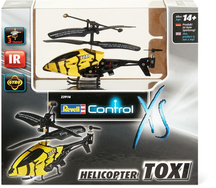RC XS Helikopter Toxi gelb 746213600000 Bild Nr. 1