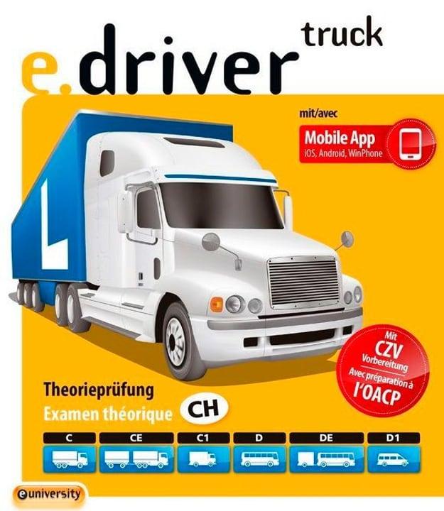 e.driver truck V2.2 [Cat. C/CE/C1/D/DE/D1] Allemand / Français Physique (Box) euniversity 785300131197 Photo no. 1