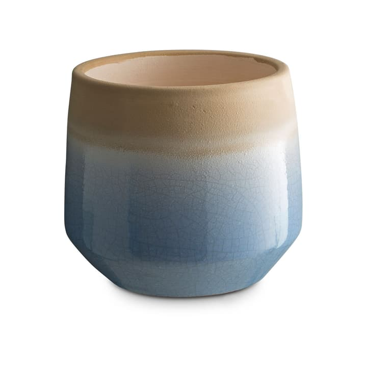 CRACLE Cache-pot 382042200000 Dimensions L: 18.0 cm x P: 18.0 cm x H: 16.0 cm Couleur Bleu clair Photo no. 1