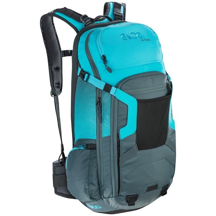 FR Trail Zaino da ciclismo con protezione Evoc 460223901442 Colore azzurro Taglie M/L N. figura 1