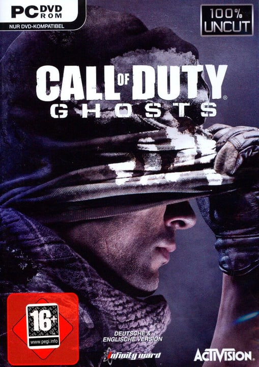 PC - Pyramide: Call of Duty - Ghosts [PC] (D) Box 785300129603 N. figura 1