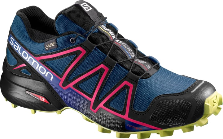 Speedcross 4 GTX Scarpa da donna running Salomon 461698541022 Colore blu scuro Taglie 41 N. figura 1