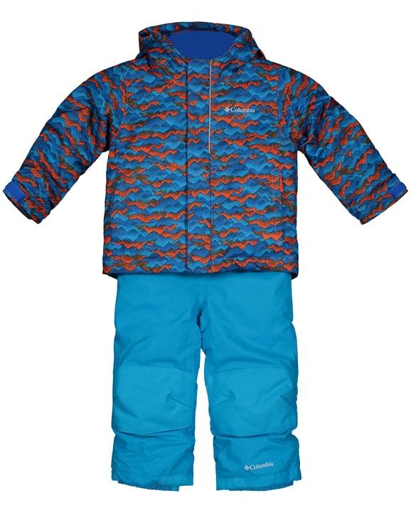 Buga Set Completo da sci per bambino Columbia 472357909265 Colore petrolio Taglie 92 N. figura 1