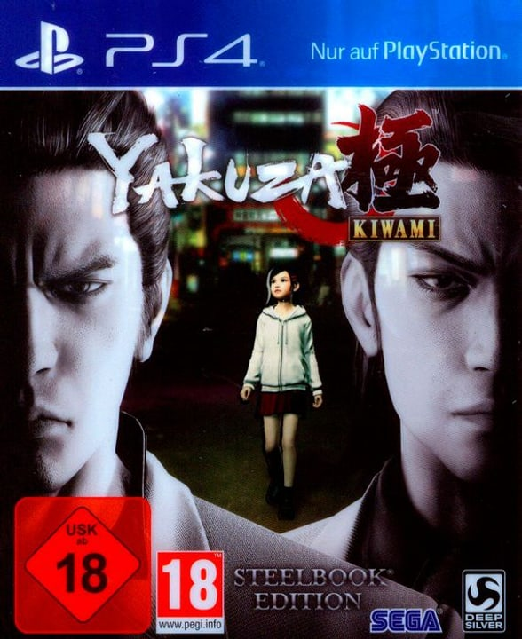 PS4 - Yakuza Kiwami D1 Edition SteelBook Physisch (Box) 785300122634 Bild Nr. 1