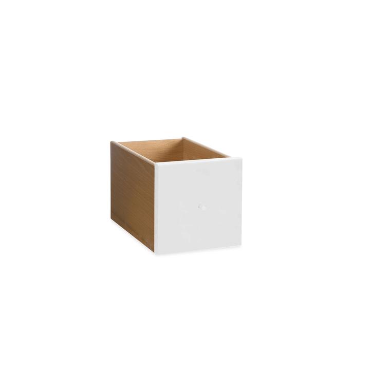VIDO Schublade mini 362011275304 Grösse B: 18.0 cm x T: 18.0 cm x H: 33.0 cm Farbe Weiss Bild Nr. 1