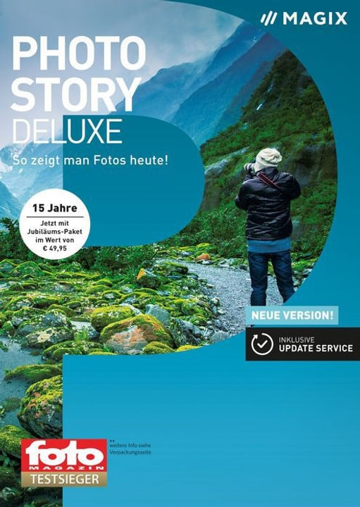 PC - Photostory 2018 Deluxe (D) Physique (Box) Magix 785300129416 Photo no. 1