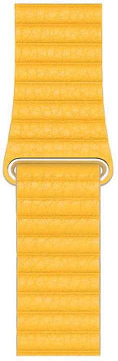 44mm Meyer Lemon Leather Loop - L bracelet Apple 785300147593 Photo no. 1