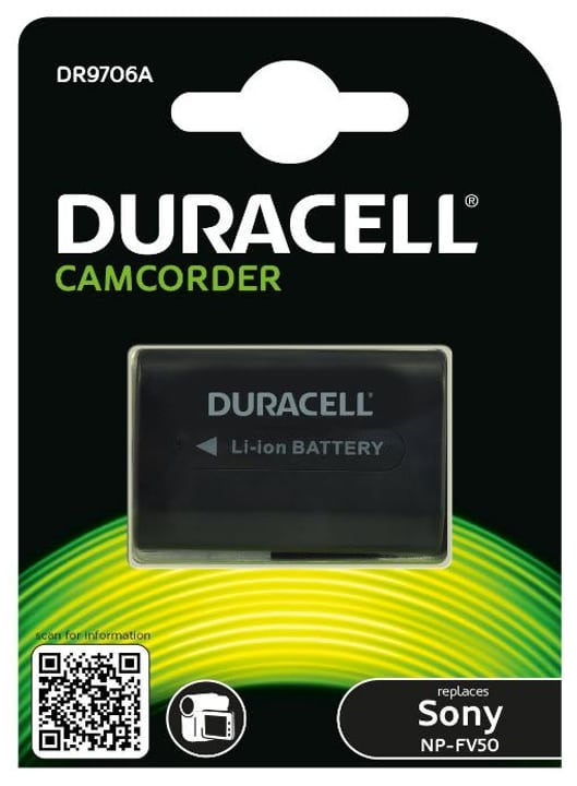 Batteria Duracell NP-FV50 Sony Replika 9000031224 No. figura 1