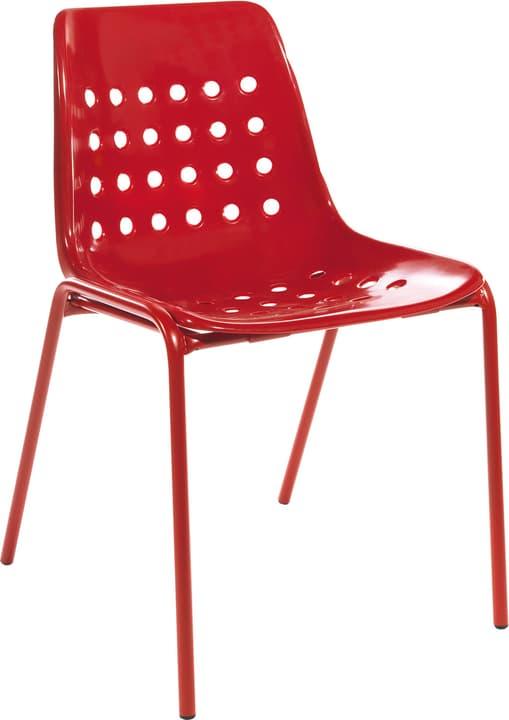 BERMUDA Stuhl Schaffner 408027300030 Farbe Rot Grösse B: 53.0 cm x T: 48.5 cm x H: 80.0 cm Bild Nr. 1