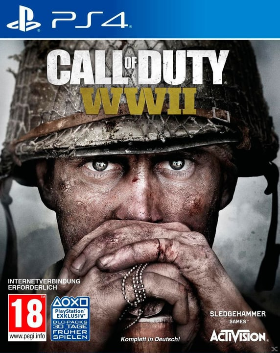 PS4 - Call of Duty: WW II (D) Box 785300122385 Langue Allemand Plate-forme Sony PlayStation 4 Photo no. 1