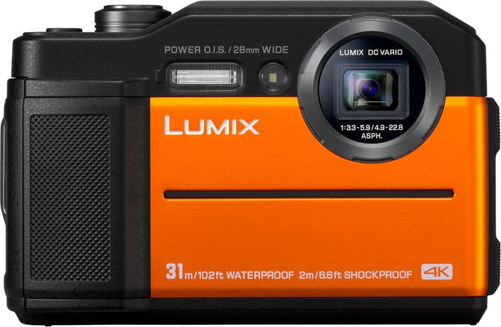 LUMIX DC-FT7 orange Appareil photo sous-marine Panasonic 785300137413 Photo no. 1