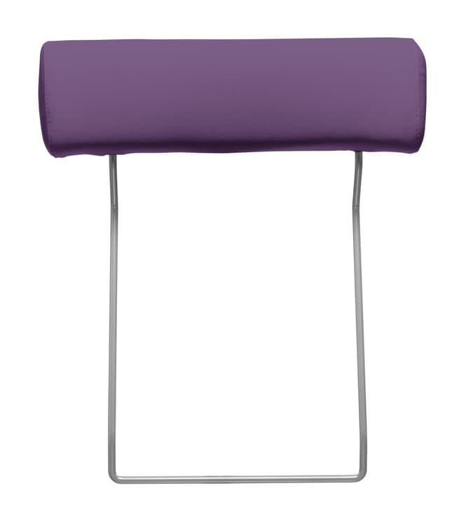 BADER Appuie-tête 405686282723 Couleur Violet Dimensions L: 55.0 cm Photo no. 1