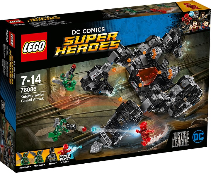 Lego DC Universe Super Heroes Knightcrawlers Tunnel-Attacke 76086 748857900000 Bild Nr. 1