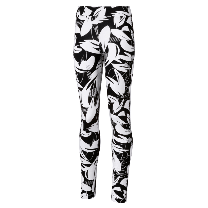 ALPHA AOP Leggings G Mädchen-Tights Puma 466906212820 Farbe schwarz Grösse 128 Bild-Nr. 1