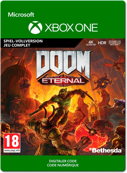 Xbox - Doom Eternal Standard Edition (ESD) Download (ESD) 785300151399 Bild Nr. 1