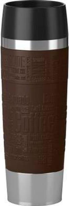 Travel Mug Grande 0.5 l, Silber Braun Thermobecher EMSA 785300142505 Bild Nr. 1