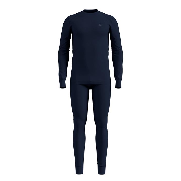 Set Active Warm Sports Underwear / Baselayer Odlo 477088600343 Farbe marine Grösse S Bild-Nr. 1