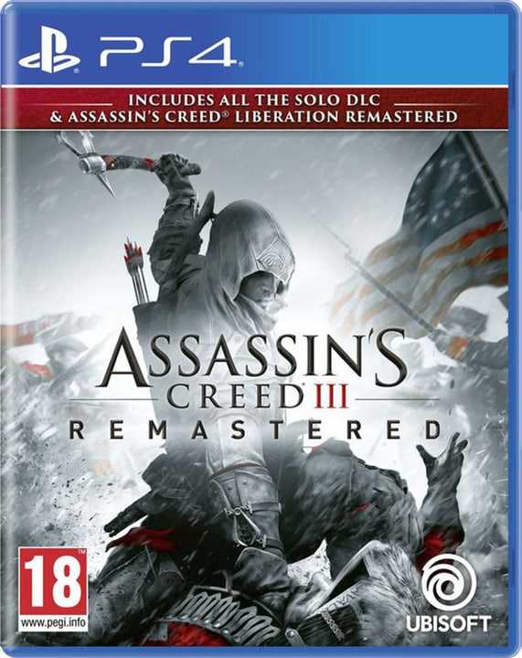 PS4 - Assassin's Creed 3 - Remastered Box 785300142516 N. figura 1