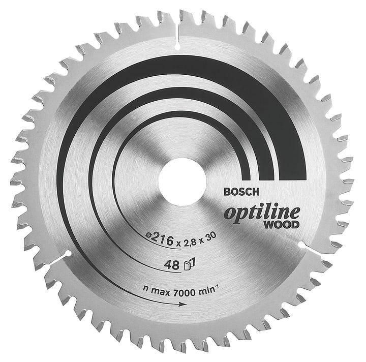 Kreissägeblatt OPTILINE Holz Bosch 616878800000 Bild Nr. 1