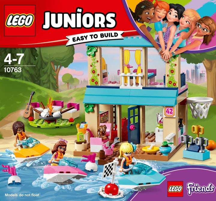 Lego Juniors Stephanies Haus am See 10763 748882300000 Bild Nr. 1