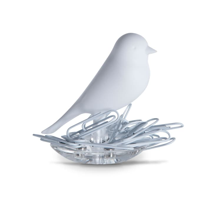 NEST SPARROW Porte-trombones 386062400000 Couleur Blanc Dimensions P: 55.0 mm x H: 65.0 mm Photo no. 1