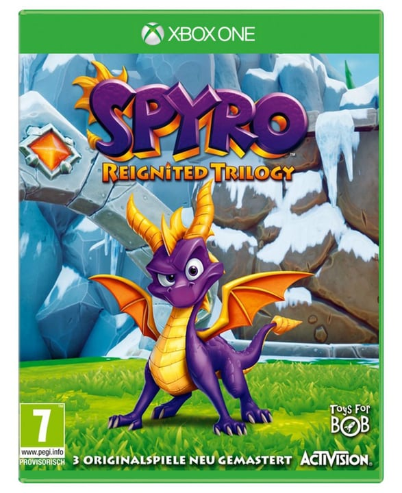 Xbox One - Spyro Reignited Trilogy Box 785300134988 Langue Français Plate-forme Microsoft Xbox One Photo no. 1