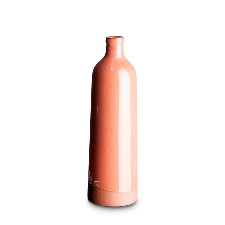 KEISHA vase décoratif 396074900000 Dimensions L: 9.0 cm x P: 9.0 cm x H: 31.0 cm Couleur Rose Photo no. 1