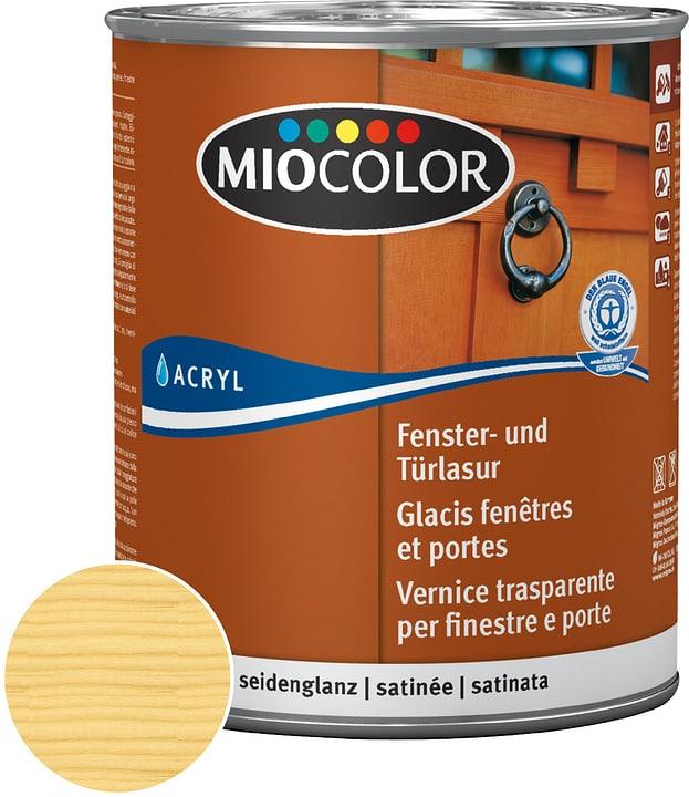 Velatura per porte e finestre Miocolor 661123300000 Colore Incolore Contenuto 750.0 ml N. figura 1