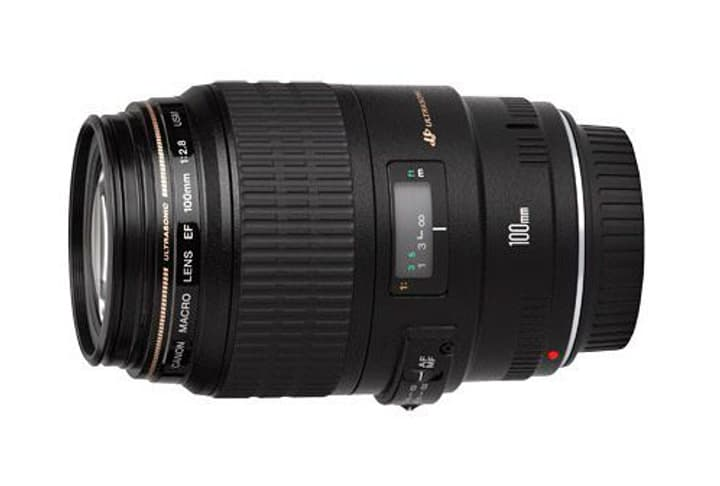 EF 100mm f/2.8 Macro USM Premium objectif Objectif Canon 785300126234 Photo no. 1