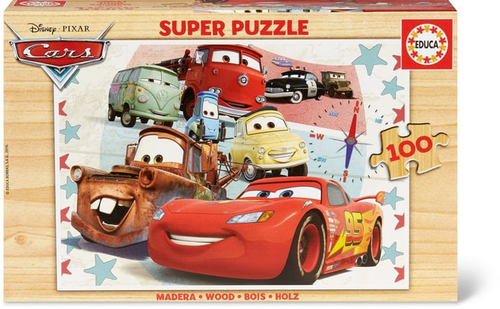 Disney Cars 3 Super Puzzle 100 TLG. 747429900000 Photo no. 1