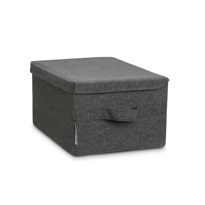 LISKA boîte pour vêtements 386150400000 Dimensions L: 35.0 cm x P: 26.0 cm x H: 19.0 cm Couleur Gris Photo no. 1