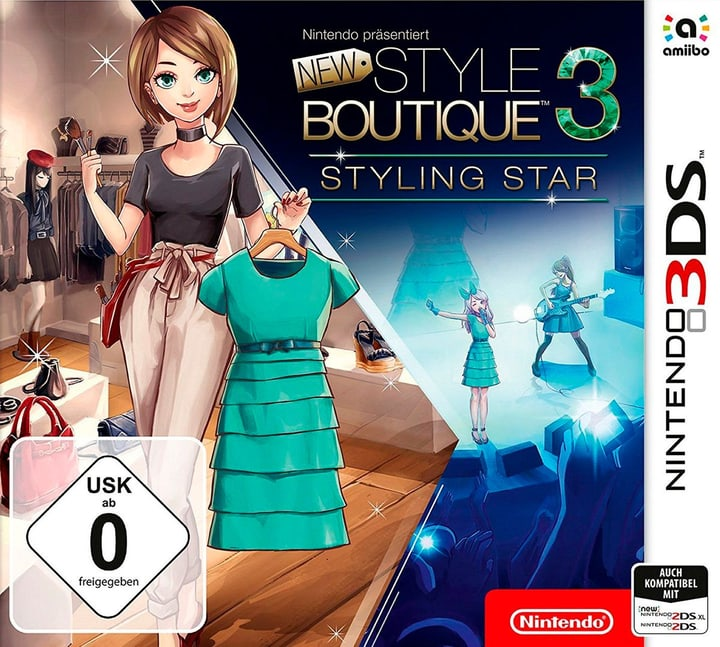3DS -La Nouvelle Maison du Style 3 - Looks de Stars F Box 785300130170 Photo no. 1