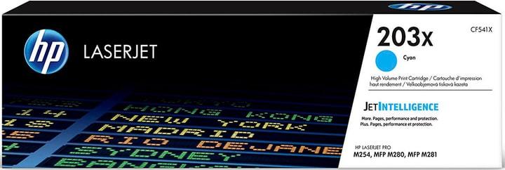 203X Toner cyan CF541X Tonerkartusche HP 798554300000 Bild Nr. 1